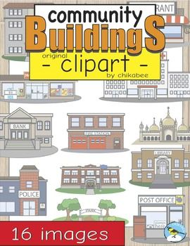 Place clipart community building Art Pinterest Buildings clipart Clip