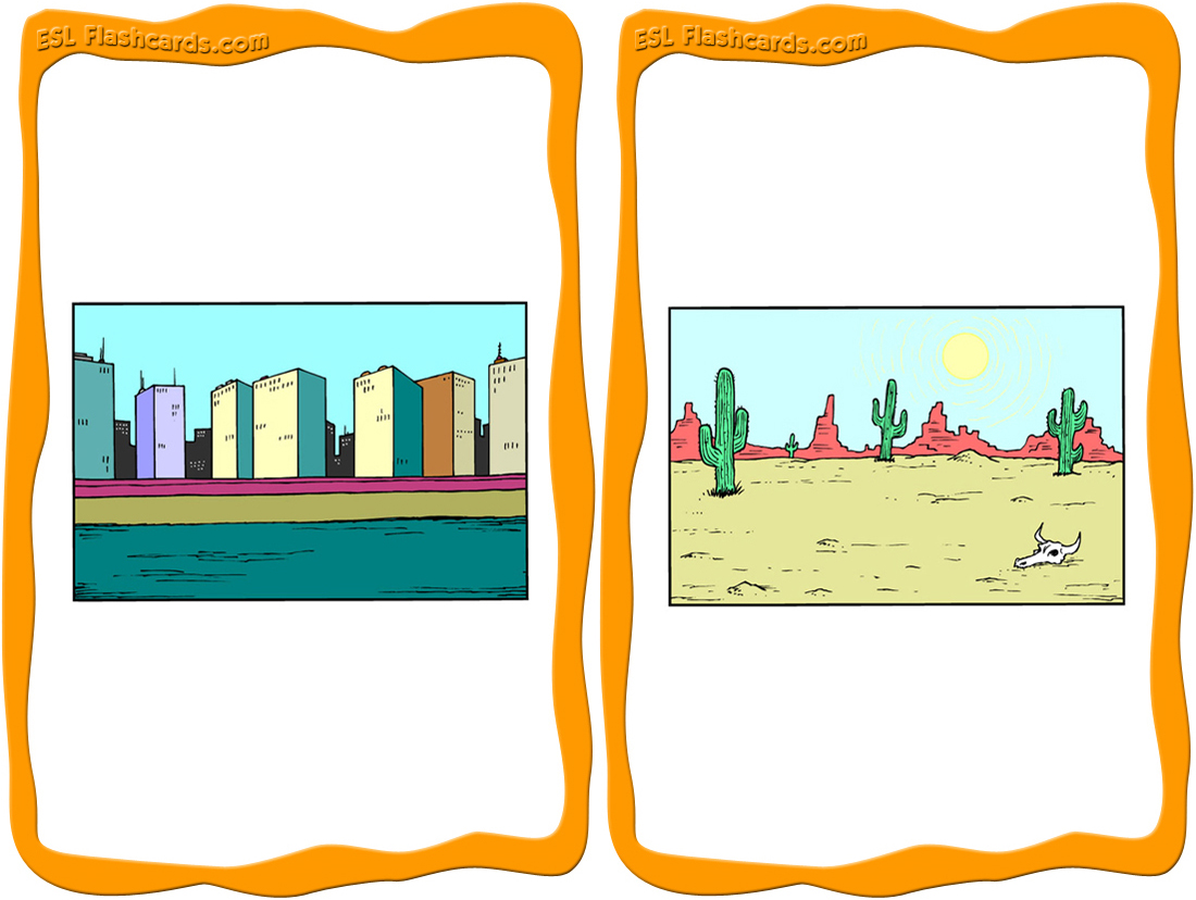 Places clipart community flashcard #6