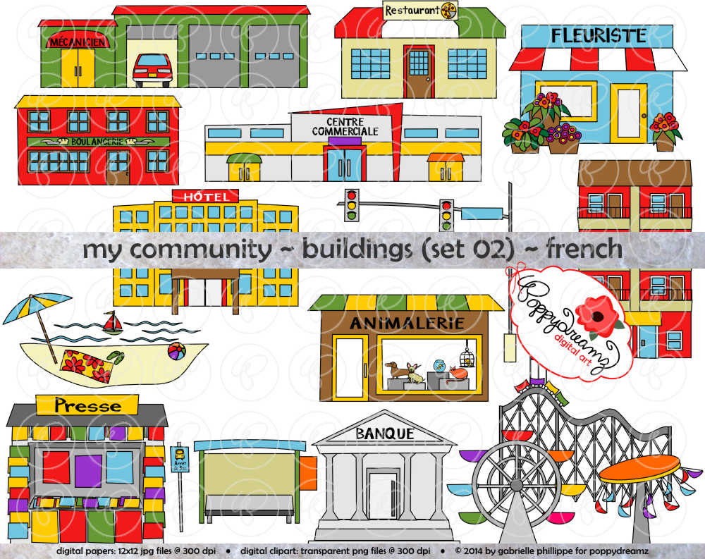 Place clipart community printable Dpi  (300 Clipart: FRENCH