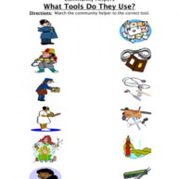 Place clipart community worksheet Tools Worksheets Have Teaching Helper
