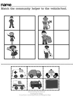 Place clipart community worksheet Mini the Pinterest CCSS} helpers
