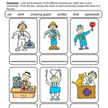 Place clipart community worksheet 2 Have Fun Worksheet helpers