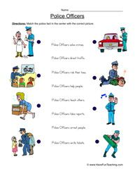 Place clipart community worksheet Worksheet Officer Info Community Officers