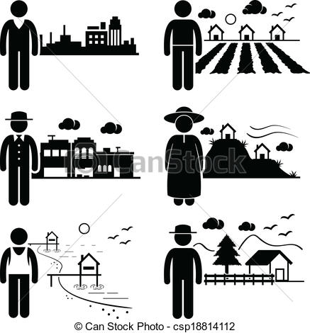 People clipart house Living A of People Clip