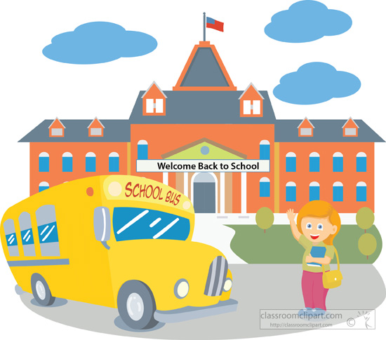 Apple clipart school bus Compdclipart collection no com Clipart