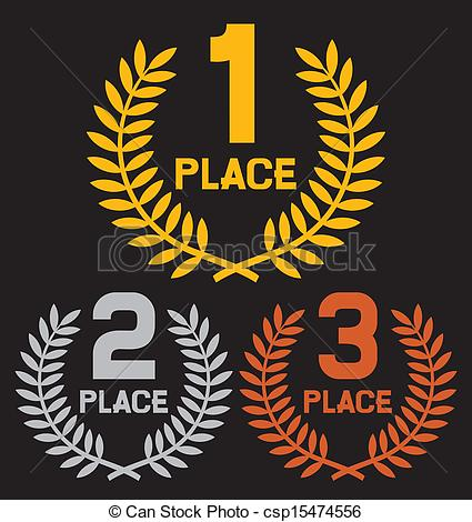Place clipart first place Place place (set second of