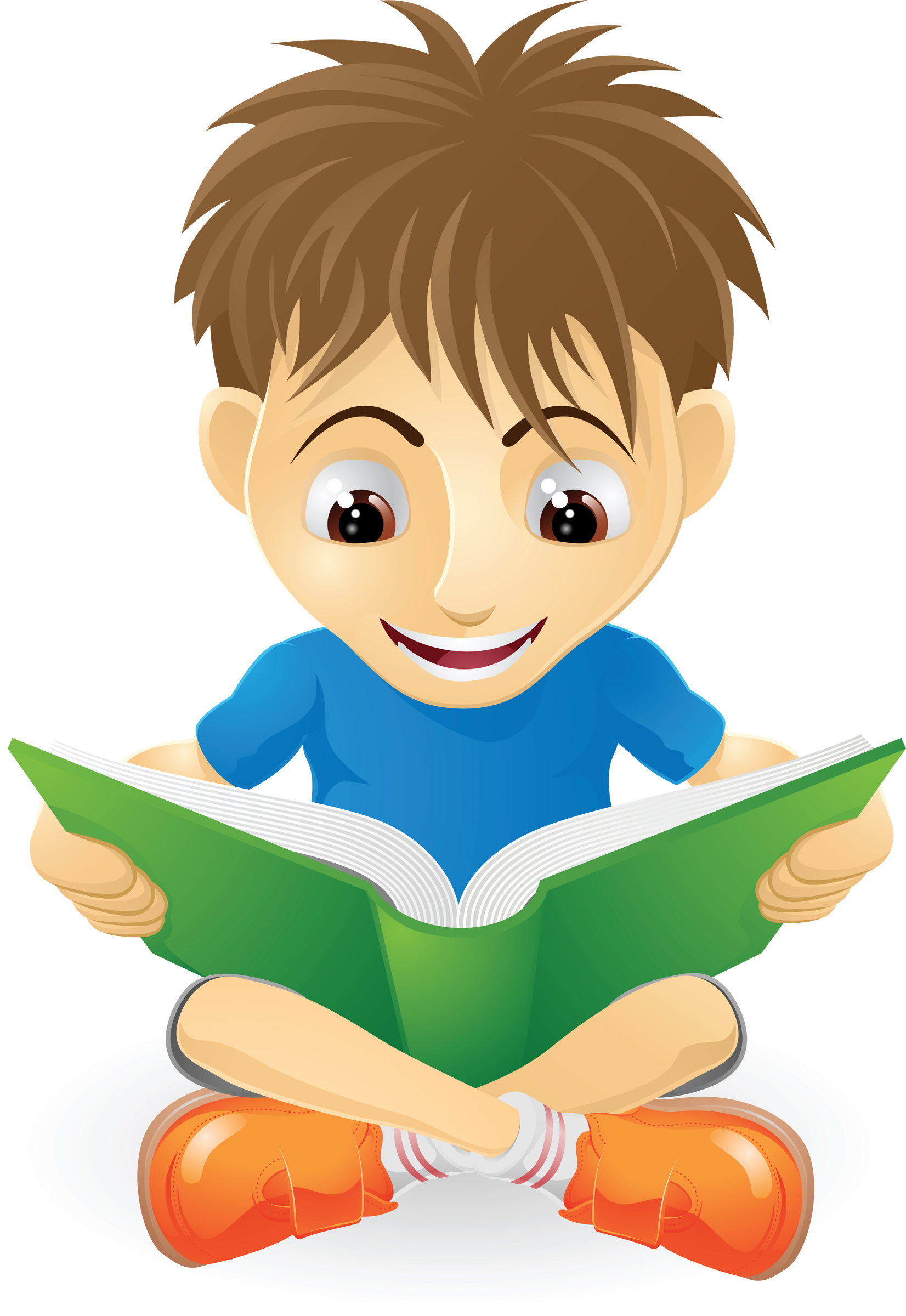 Choice clipart kid Studying kids Art collection Reading