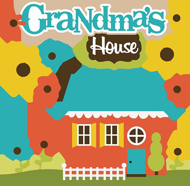 Place clipart grandma's house #1