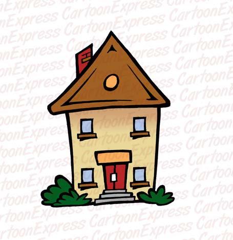 Place clipart grandma's house #7