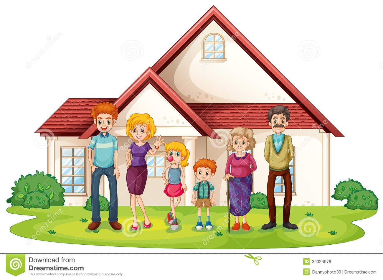 Hosue clipart home and family Family Clip Home and Download