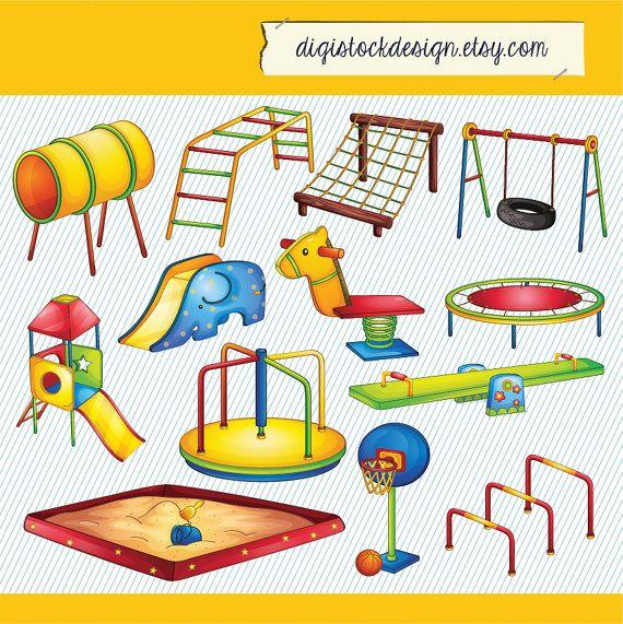Place clipart kids park #8