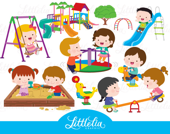 Outside clipart preschool playground Playground playground Clip Playground Best