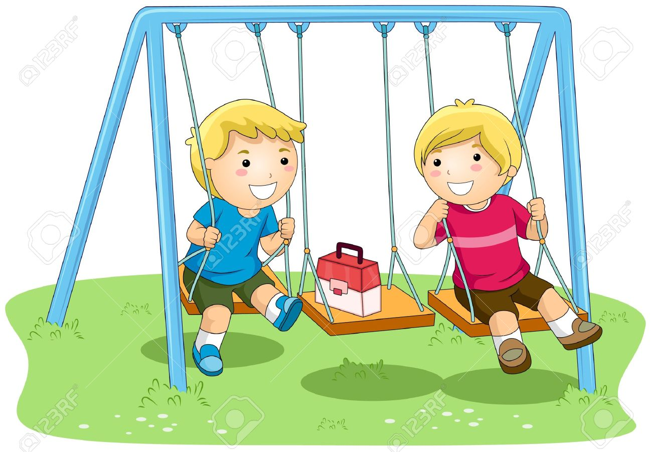 Park clipart children park In On Clipart Park Swing