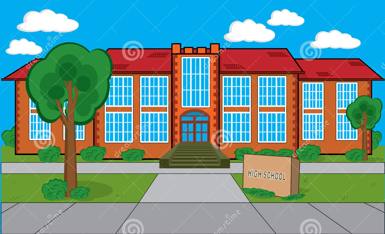 Place clipart middle school Clipart Middle School Middle Building