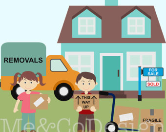 Place clipart moving house Moving Instant cars clipart road