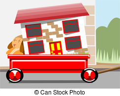 Place clipart moving house With home  house moving