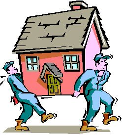 Place clipart moving house Free Free Clipart House Clip