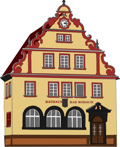 Place clipart municipal hall At Town Hall clip online