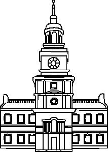 Place clipart municipal hall #2