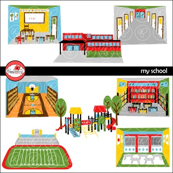 Place clipart my school #3