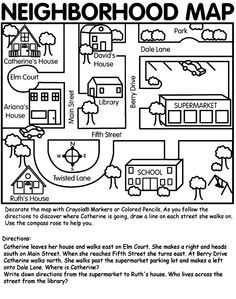 Places clipart neighborhood map #3