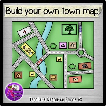 Places clipart neighborhood map #6