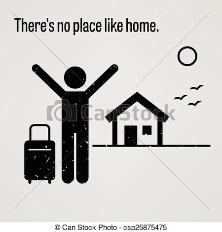Place clipart new home #13