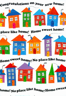 Place clipart new home #14
