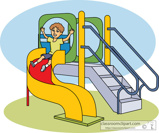 Park clipart playground slide Clipart 2 images Playground cliparts