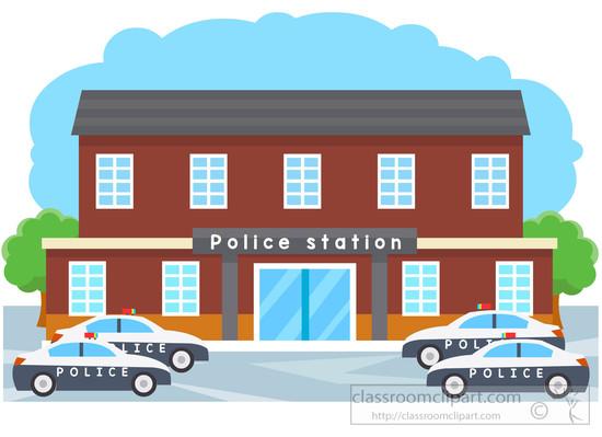 Door clipart police station #3