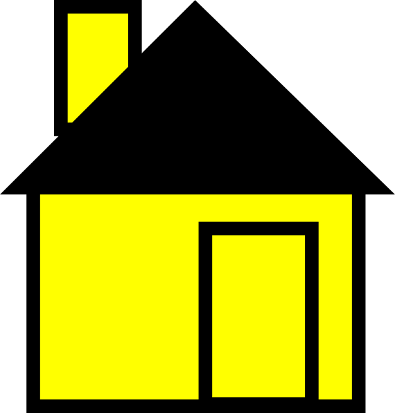 Place clipart simple house #9