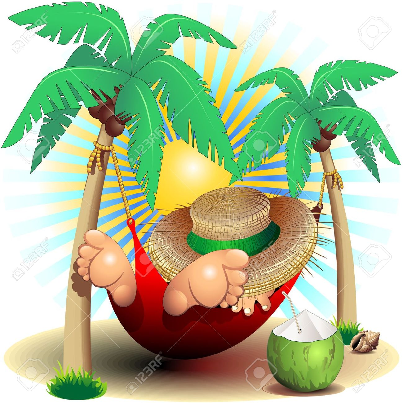 Vacation clipart relaxation Art Free Images – Images