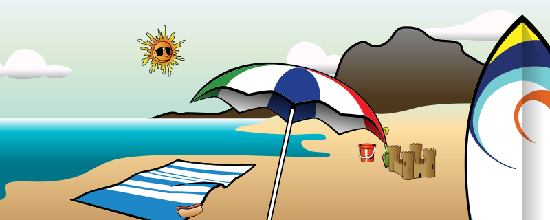 Holydays clipart summer vacation Download Summer graphic clipart Clip