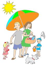 Holydays clipart summer The beach Holiday Summer Clip