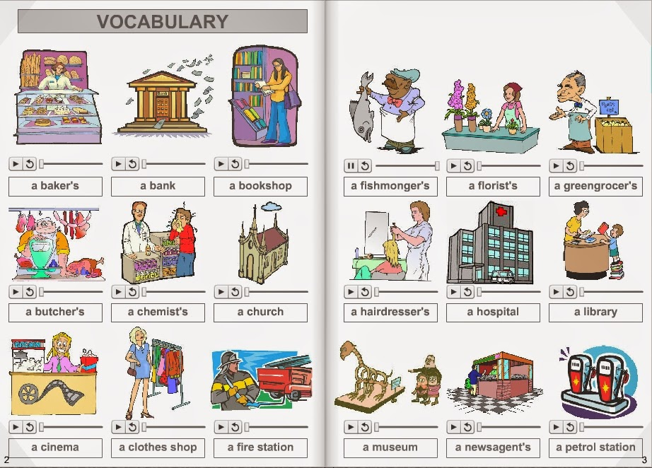 Places clipart english #2