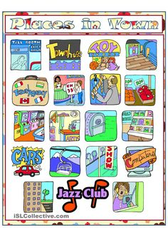 Places clipart english #4