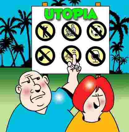Place clipart utopia Inaccessible & myth Age many