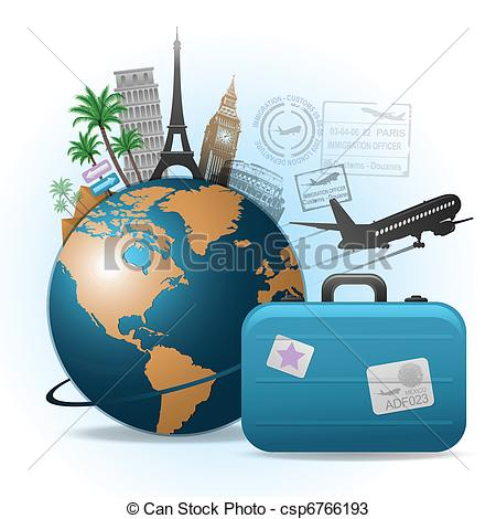 Travel clipart world travel Clip Travel Art 771 771