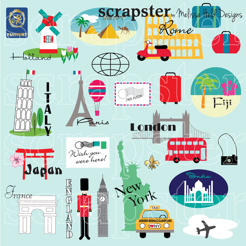 Place clipart world travel Clipart Travel Clipart Travel World