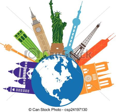 Place clipart world travel Of World for csp24197130 World