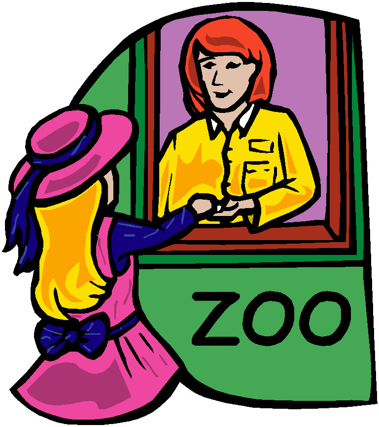 Zoo clipart ticket booth Zoo com art Clip 5