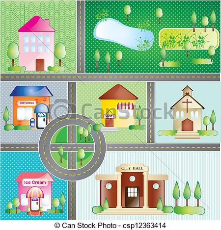 Places clipart #9