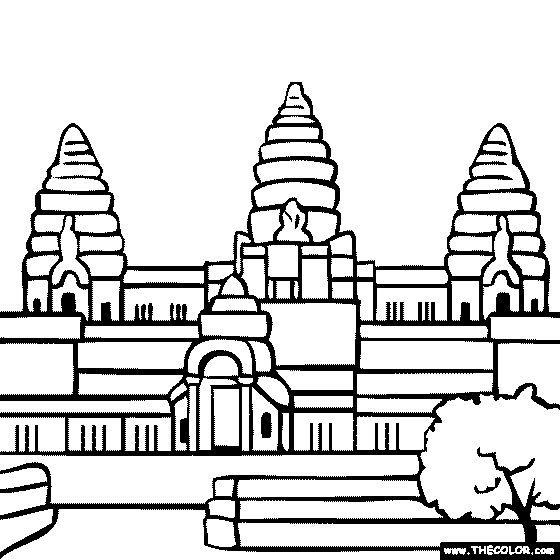Temple clipart hindu man Pinterest temple buddhist on drawing