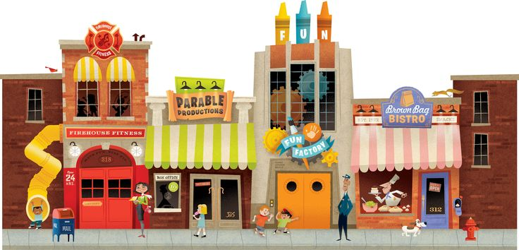 Places clipart city street Clipart House Free  Download