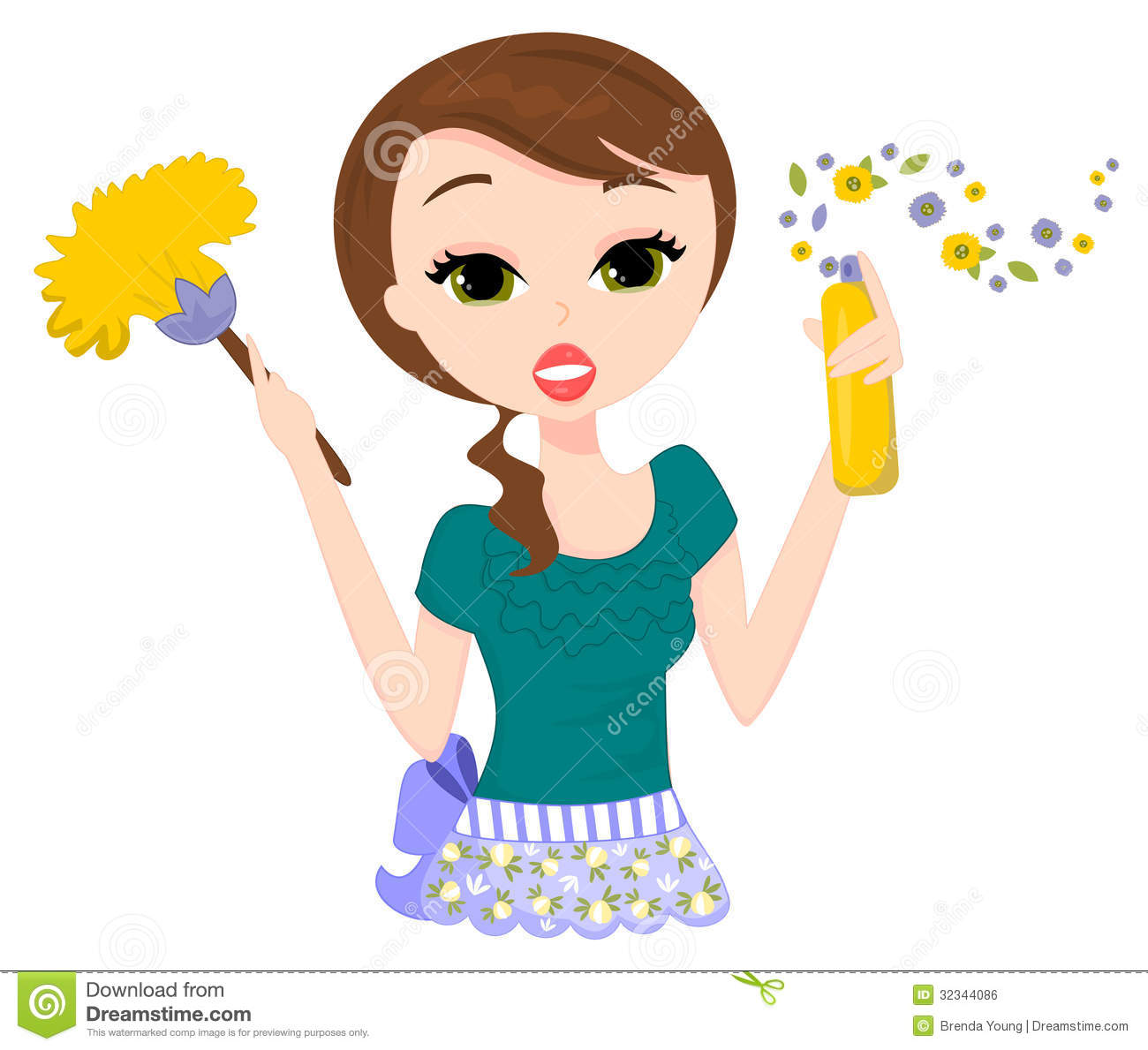 Old clipart cleaning lady Lady cleaning Visit  Art