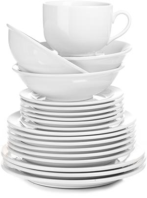 Plate clipart clean dish A 8 From Places Clipart
