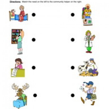 Places clipart community worksheet #8