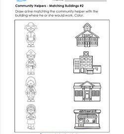 Places clipart community worksheet #15