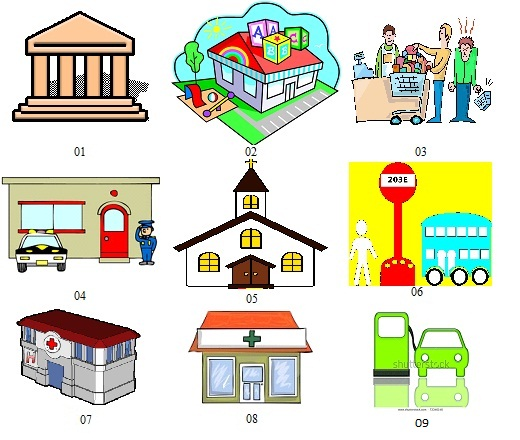 Places clipart english #7