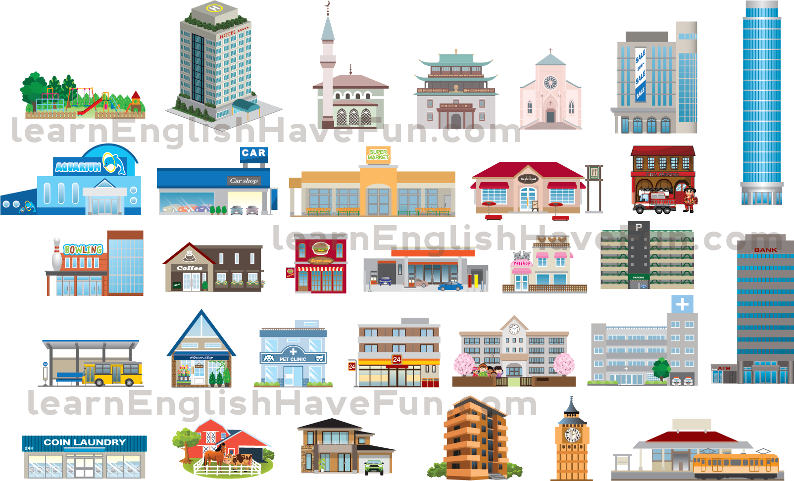 Places clipart english #6